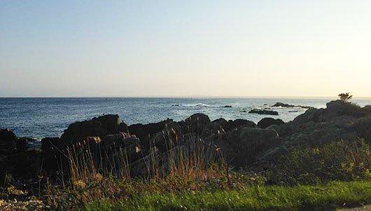 Photo of ocean view.