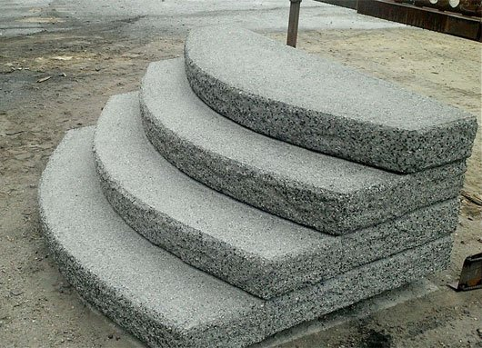 Photo of 2 step concrete step off porch