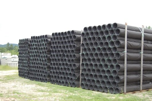Photo of enviro septic tubes.