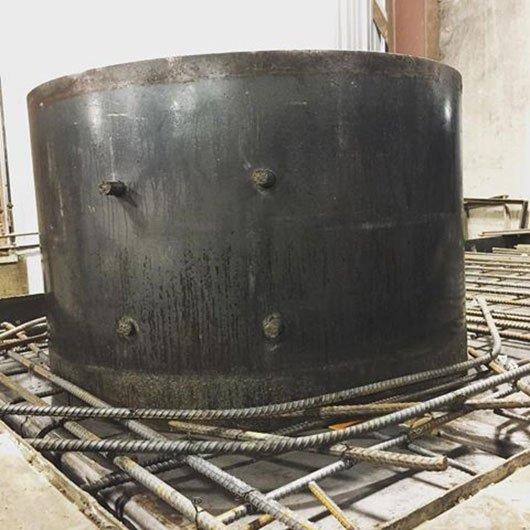 Septic tank rebar