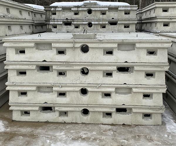 8 x 8 Concrete Chambers